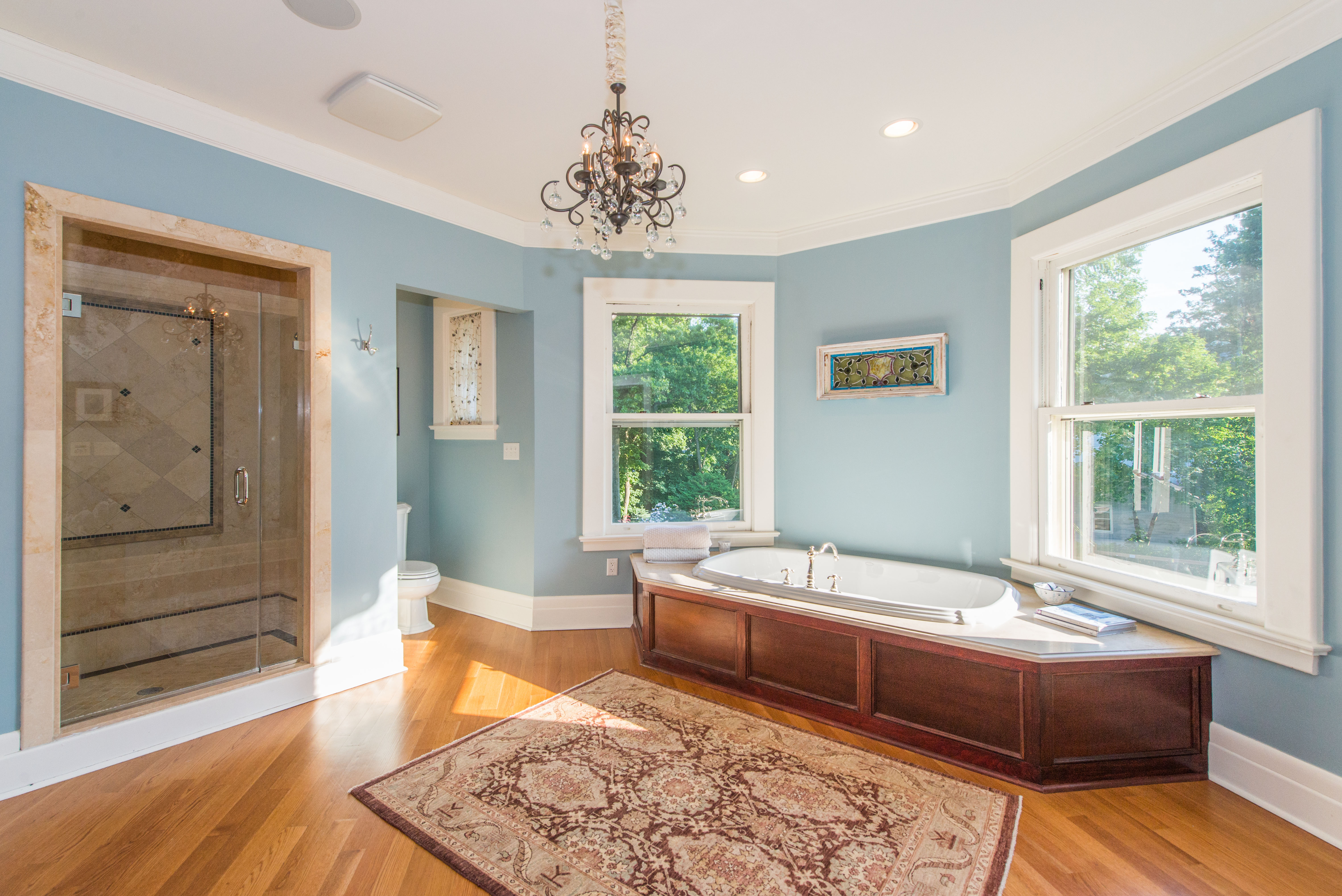 Includes A True Master Suite With His U0026 Hers Walk In Closets. An Acre Of  Bucolic Grounds May Lull Y